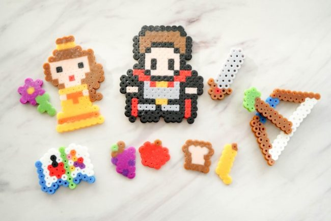 perler bead idea playset characters