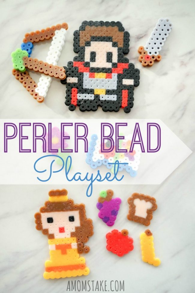 Perler Bead Idea - Make a Playset!