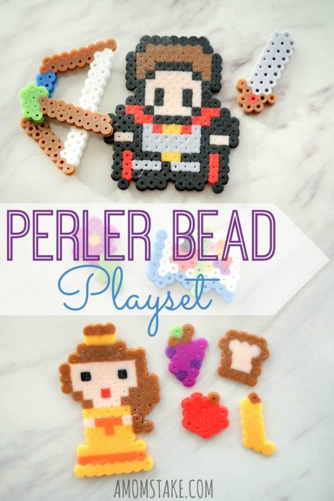 Perler Bead Idea - Make a Playset!