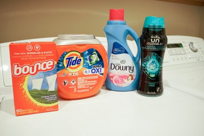 laundry care routine products