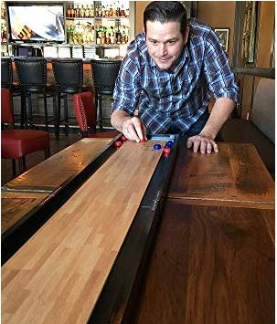 Front Porch Tabletop Shuffleboard