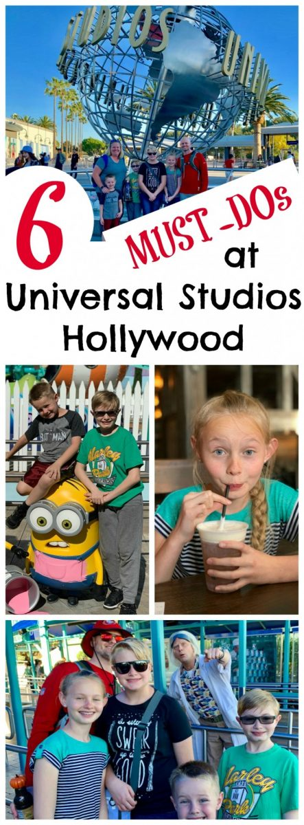 6 Must-Dos at Universal Studios Hollywood #AD