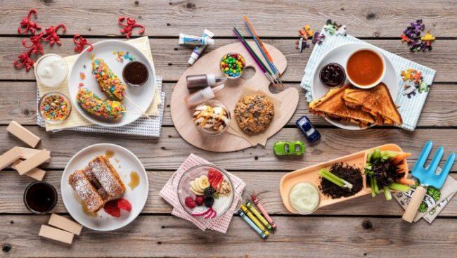 omni originals culinary kids menu