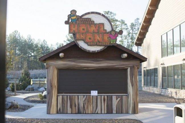 Great Wolf Lodge Howl in One Mini Golf