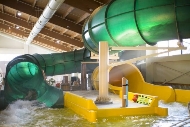 Great Wolf Lodge Indoor Water Slides