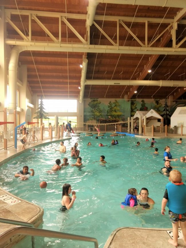 Great Wolf Lodge NC indoor water park