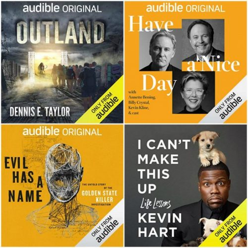 audible father's day books
