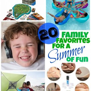 Must-haves for a fun family summer #AD