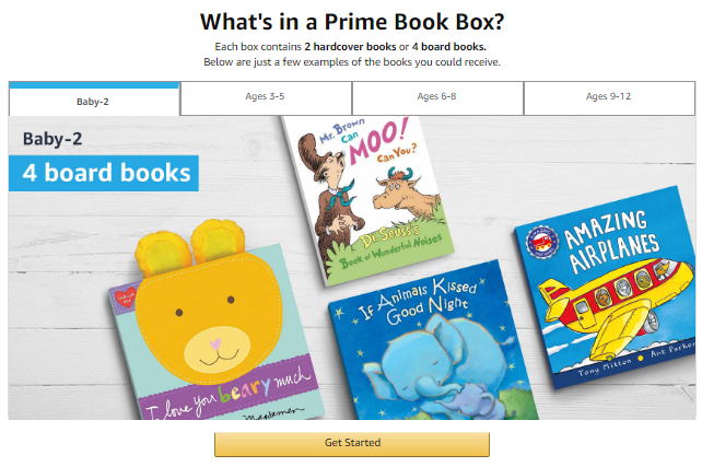 prime book box what's inside