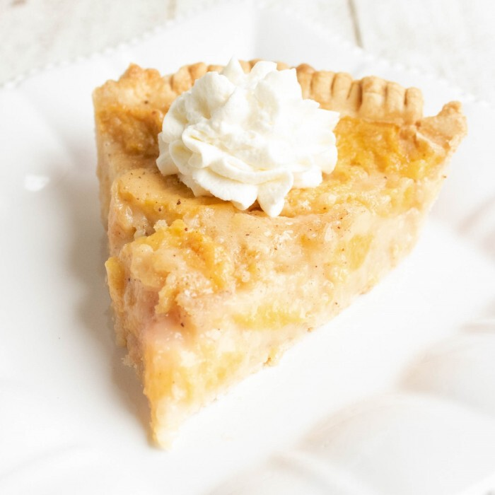 Easy No-Fuss Peach Pie