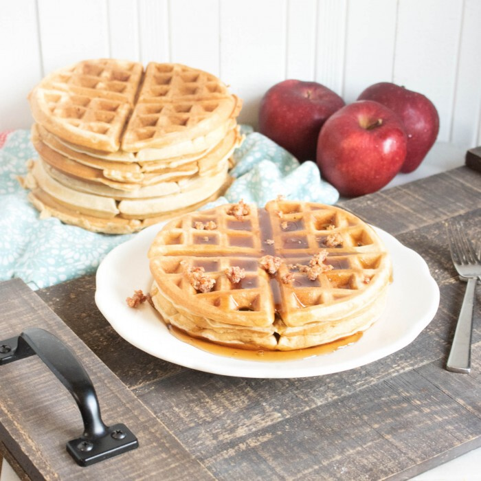 Belgian Maple Bacon Waffles