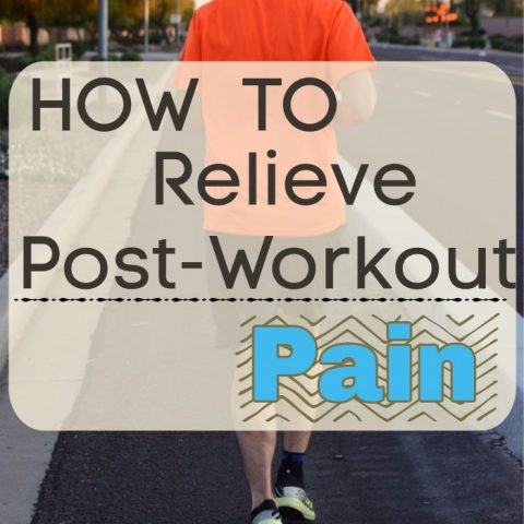How to relieve post-workout pain
