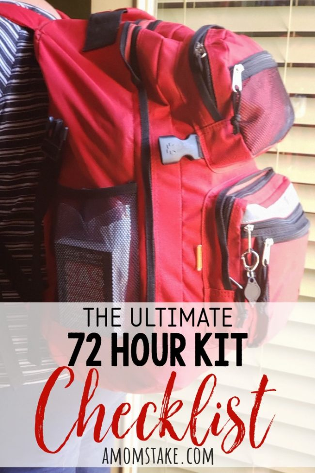The ultimate 72 hour kit checklist! This includes detailed directions of what to include in a bug out bag and why! Plus, a free printable 72 hr kit checklist to help you in your shopping and emergency preparation! I couldn't find online what I was looking for when making my own kits, so I combined all the resources I could find to create this ultimate printable list with everything all in an easy to follow format!