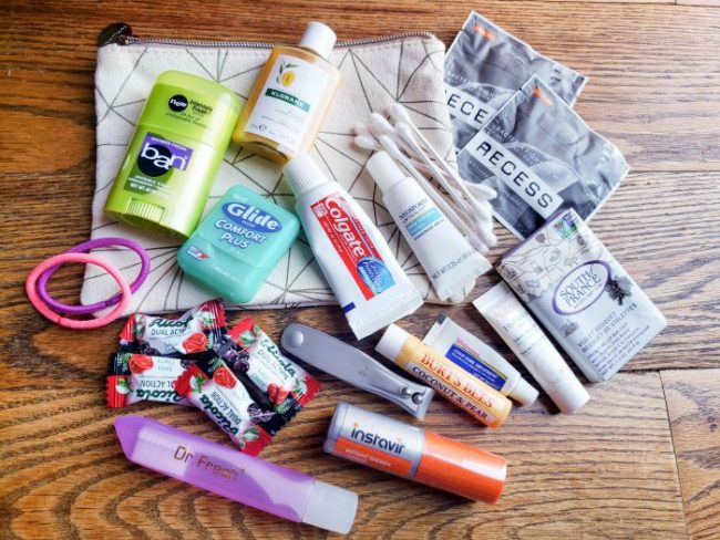 hygiene supplies for a 72 hour kit