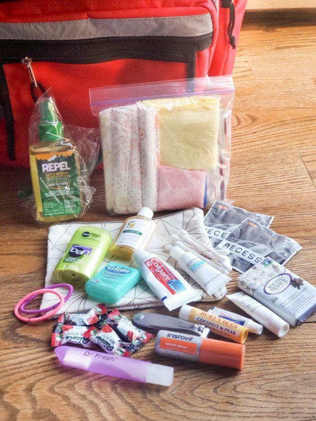 72 hour kit supplies list