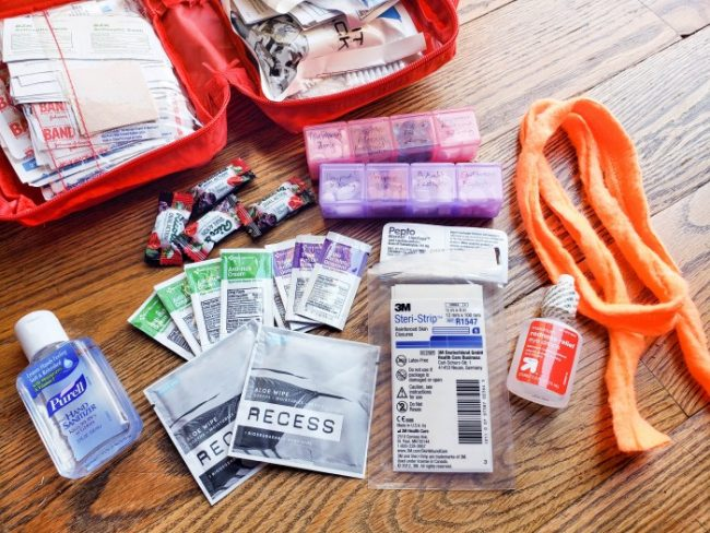 72 hour kit first aid kit with extra supplies