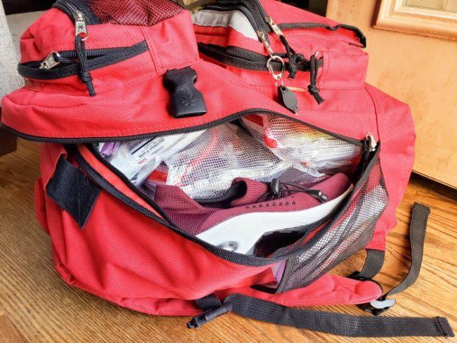 zip open 72 hour kit backpack