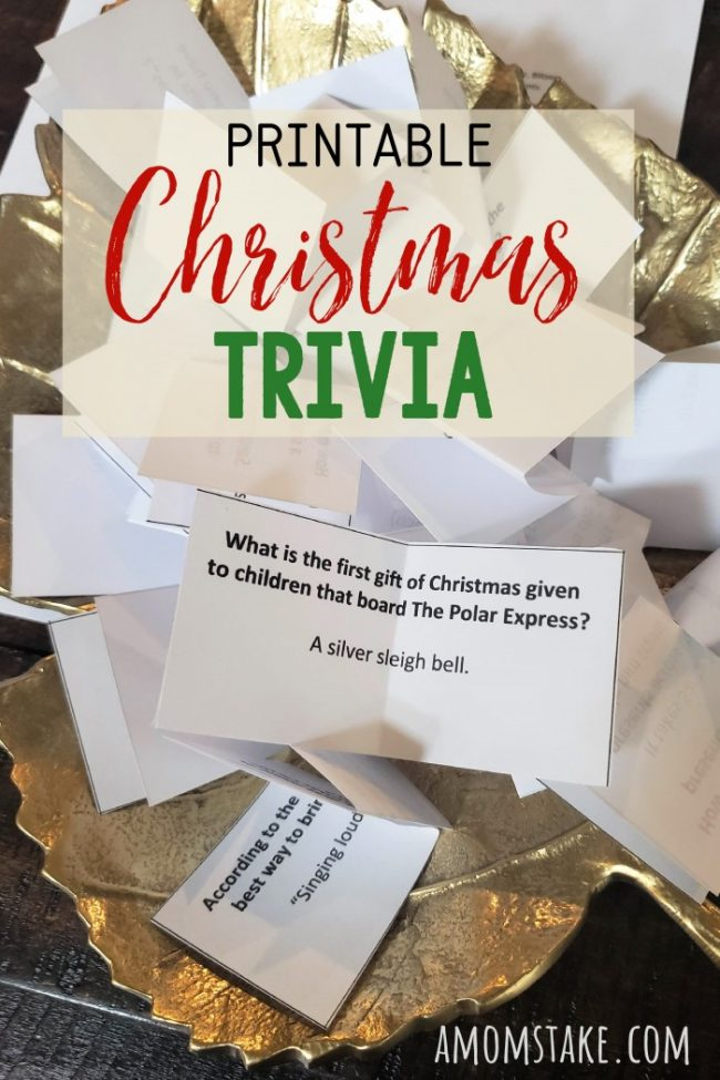 christmas trivia questions in a bowl